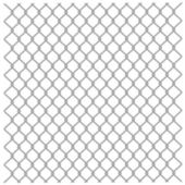 Metallic fence — Stock Vector