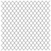 Metallic fence — Stock Vector