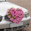 Stock Photo: Flower car