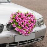 Flower car — Stock Photo