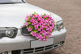 Flower car — Stock Photo