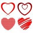 Hearts — Stock Vector #8544889
