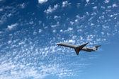 Big airliner — Stock Photo