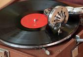Eski gramofon — Stok fotoğraf