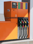 Station pump — Stock Photo