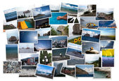 Holiday postcards — Stock Photo