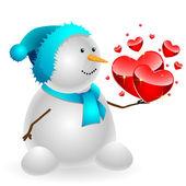 Snowman — Foto Stock
