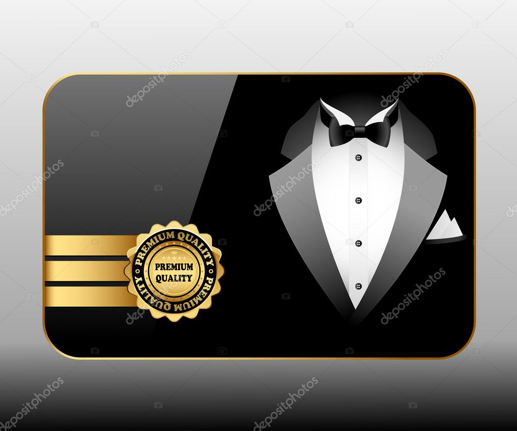 Illustration of business cards premium quality.  — Stock Photo #9617894