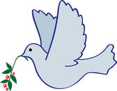 Bird bearing the world — Cтоковый вектор