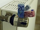 Heating costs — Stockfoto