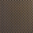 Stock Photo: Perforated steel