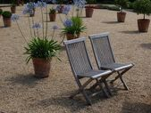 Deux chaises en teck — Photo