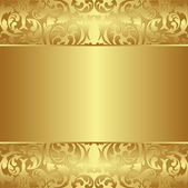 Golden background — Stock Vector
