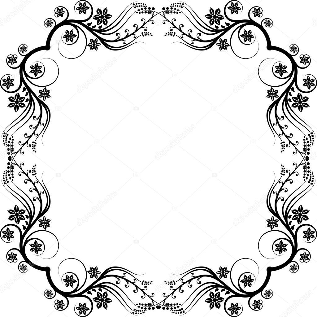 frame ornaments vector by mtmmarek