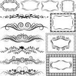 Ornaments — Stock Vector