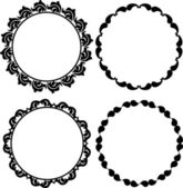 Round frames — Stock Vector