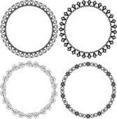 Round frames — Stock Vector