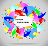 Colourful background abstraction — Stock Vector