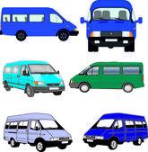 Passenger transport, gazelle — Stock Vector