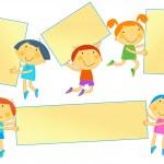 Children school — Stock Vector