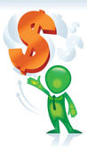 Dollar_Opportunity — Stok Vektör