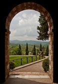 Tuscan Arch — Stock Photo