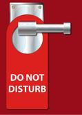 Do Not Disturb — Stock Vector
