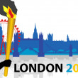 London 2012 A — Stock Vector #10143767