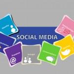 Social Media Concept 2 — Stock Vector #10287072