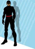 黑 2 中的英雄 — 图库矢量图片