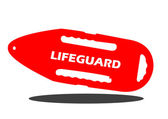 Lifeguard Buoy — Stock Vector