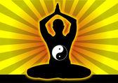 Meditazione 2 — Vettoriale Stock