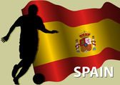 Football Spain — Stock Vector