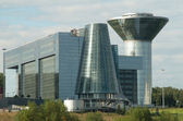 Building which houses the government of Moscow region — Stock Photo