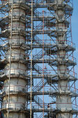 Russie. l'unité de traitement sur norsi usine de raffinage — Photo