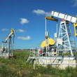Russia.Oil production on the oil field — Stock Photo #9181177