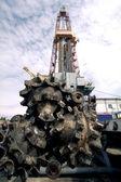 Russia. Oil production of Salym Petroleum Development Company — Stock Photo