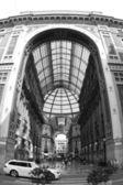 Milano galerie v Itálii, milan — Stock fotografie