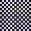 Chequer metal texture — Stock Photo