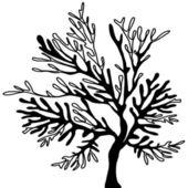Vector tree-. — Stock Vector