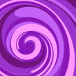 Vector whirlpool purple background. — Stock Vector #8651931