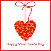 Valentine's card. — Cтоковый вектор
