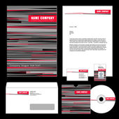 Set of corporate templates. — Cтоковый вектор