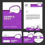 Business style templates. Vector illustration. — Stok Vektör