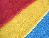 Color towels — Stockfoto