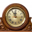 Old watch shows five minutes about new year — Stockfoto #9062592