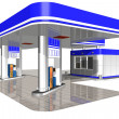 Gasoline station — Stock Photo #9154932