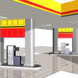 Gasoline station — Stock Photo #9154933