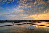 Odbicie piękny zachód słońca — Zdjęcie stockowe