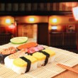 Delicious Japanese sushi — Stock Photo